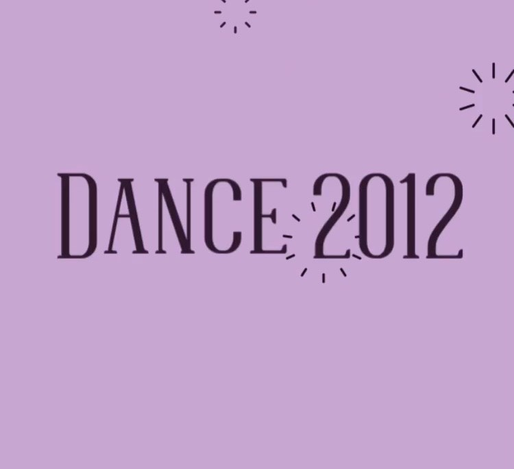 Dance 2012 Winter